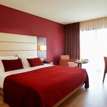 Au Palace Hotel & Spa - Termas de São Miguel situé au pied de la Serra da Estrela, à Fornos de Algodres, il dispose de 130 chambres, 17 suites, restaurant et